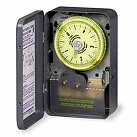 Intermatic C8865 NEMA 1-125V SPDT Time Switch, 1 Hour Cycle With 30 Sec.Tripper Actuating Time