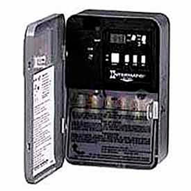 Intermatic EH40 Electronic Water Heater Timer w/ External Load Indicator And Load Override, 240V