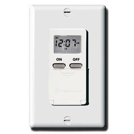 Intermatic EI500WC Digital 7-Day Timer 15 Amp 120V, White