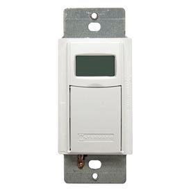 Intermatic EI600WC Digital 7-Day Astro Timer 20 Amp 12-277VAC, 12-28VDC, White