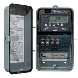 Intermatic ET1115CR 24-Hour 20/30 Amp SPDT Electronic Timeswitch - Clock Voltage 120-277V NEMA 3R