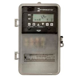 Intermatic ET1715CPD82 7-Day 20/30 Amp SPDT Electronic Timeswitch-Clock V 120-277V NEMA 3R Plastic