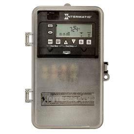 Intermatic ET1715CPD82 7-Day 20/30 Amp SPDT Electronic Timeswitch-Clock V 120-277V NEMA 3R Plastic
