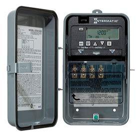 Intermatic ET1715CR 7-Day 20/30 Amp SPDT Electronic Timeswitch - Clock Voltage 120-277V NEMA 3R