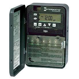 Intermatic ET8015CR 7-Day 30 Amp SPST Electronic Astro Timeswitch - Clock Voltage 120-277V NEMA 3R