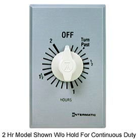 Intermatic FF30MH 30 Minute 125-277V SPST Commercial Series Timer w/Hold For Continuous Duty