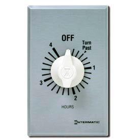 Intermatic FF34H 4 Hour 125-277V SPDT Commercial Series Spring Wound Timer