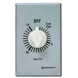 Intermatic FF460M 60 Minute 125-277V DPST Commercial Series Spring Wound Timer