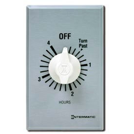 Intermatic FF4H 4 Hour 125-277V SPST Commercial Series Spring Wound Timer