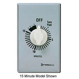 Intermatic FF5MH 5 Minute 125-277V SPST Commercial Series Timer w/ Hold For Continuous Duty