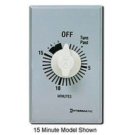 Intermatic FF60MHC 60 Minute 125-277 V SPST Commercial Series Timer w/ Hold For Continuous Duty