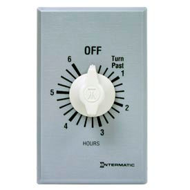 Intermatic FF6H 6 Hour 125-277 V SPST Commercial Series Spring Wound Timer