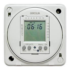 Intermatic FM1D20E-24 Electronic 24-Hour/7-Day Timer Module, Flush Mount, 15A, 24V, 50/60Hz