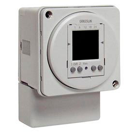 Intermatic FM2D50-240 2-Channel 24-Hour or 7-Day - 42 Programs, 240V Automatic Daylight Changeover