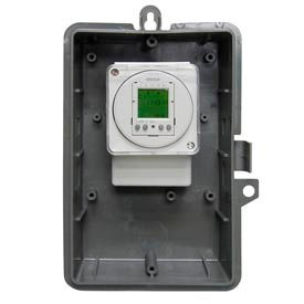 Intermatic GMX2FM2D50I-240 2-Channel Electron 24-Hour/7-DayTimeSwitch,NEMA1 Indoor/Plastic,16A,240V