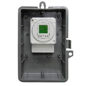 Intermatic GMXFM1D50-I-24 Electronic 24-Hour/7-Day Time Switch, NEMA1 Indoor Plastic Encl,16A,24V