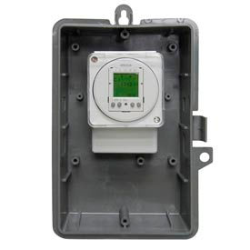 Intermatic GMXFM1D50-O-120 Electro 24-Hour/7-Day Time Switch, NEMA3R Outdoor Plastic Encl,16A,120V