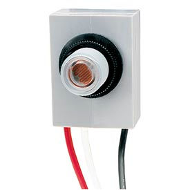 "Intermatic K4023C 3100-4100 Watt ""T"" Fixed Postion Mounting Photo Control, 208-277V, 50/60 Hz."