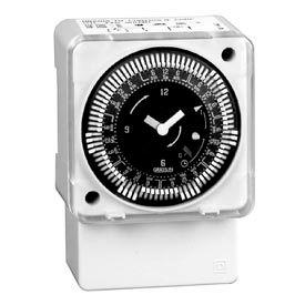 Intermatic MIL72ASTUZ-240 24-Hour, Electromech Timer, Surface/DIN Rail Mount,W/o Battery Backup 240V