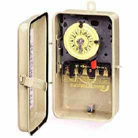 Intermatic T101R3 NEMA 3R - Time Switch In Metal Enclosure, 120V, SPST