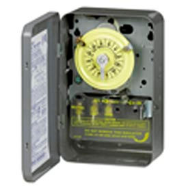 Intermatic T104 NEMA 1 - 24 Hour Dial Time Switch, 208-277V, DPST