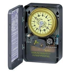 Intermatic T1975 NEMA 1 - 24 Hour Dial Time Switch W/Skipper, 125V, SPDT