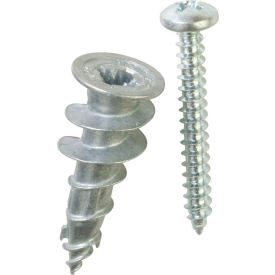 ITW E-Z Ancor 25216 - Stud Solver 50 lb. Self-Drilling Drywall Anchor - Made In USA - Pkg of 20