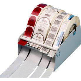 "MDL-45 Mountable Label Dispenser for Single/Multiple Roll Use Maximum 4-1/2""W x 7"" Roll Diameter"
