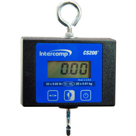 Intercomp 100772 CS200™ Light-Duty Hanging Scale, 250 lb x .1 lb