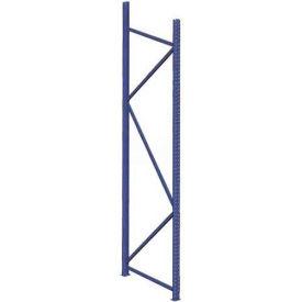"Interlake Mecalux Bulk Storage Rack Upright 84""H x 30""D, 8,489 Lbs. Cap."