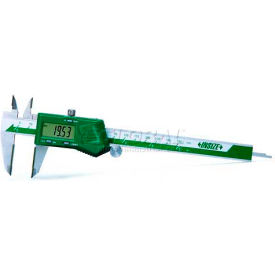 "InSize Digital Caliper W/Carbide Tipped Jaws, 1110-300A, 0-12""/0-300mm Range"
