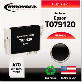 Innovera® Remanufactured T079120 (79) High-Yield Ink Cartridge - Black