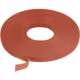 """VELCRO® Brand One-Wrap® Hook & Loop Tape Fasteners Brown 5/8"""" x 75'"""