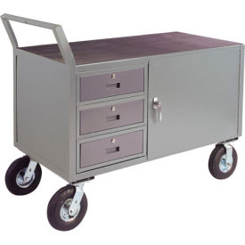 """Low Profile Cabinet Cart w/ 5"""" Poly Casters - 24 x 48"""