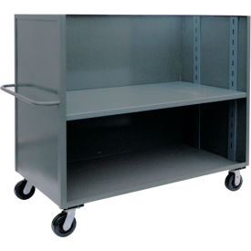 3 Sided Solid Truck with One Adjustable Shelf 30 X 60