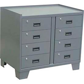 """Jamco Heavy Duty Security Cabinet JL236 - 8 Drawer, 36""""W x 24""""D x 33""""H"""