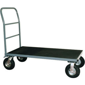 """Vinyl Matted Platform Truck w/ 5"""" Poly Casters 24 x 48"""