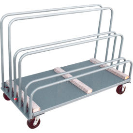 Adjustable Sheet and Panel Truck with Carpeted Rails 30 X 72