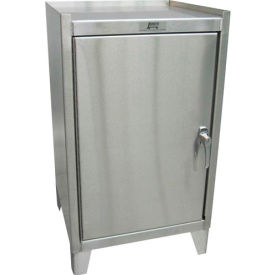 """Jamco Stainless Steel Cabinet VY118 - 1 Door - 18""""W x 18""""D x 35""""H"""