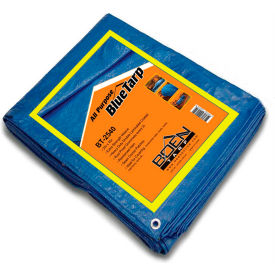 BOEN All Purpose Tarp, 25' x 40', Blue - BT-2540