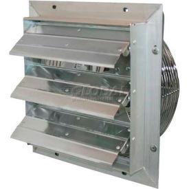 "J&D ES Shutter Fan 30"", 115/230V, 1/2HP, 1PH, Single Speed, Aluminum Shutterss"