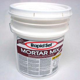 JE Tomes Rapid Set Mortar Mix, Concrete Repair, High Strength, 55 lb. Pail RSMM-55P by