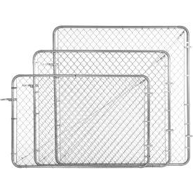 "Adjust-A-Gate CL013629 Adjustable Walkgate Kit 72""W x 72""H, White"