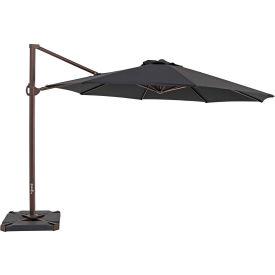 TrueShade® 11.5' Cantilever Round Umbrella - Black