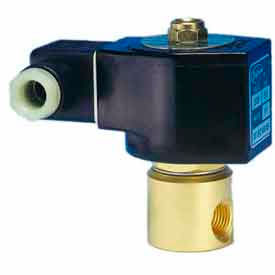 "Jefferson Valves, 1/4"" 2 Way Solenoid Valve General Purpose 12V DC Direct Acting, Normally Closed"