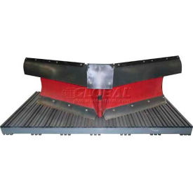 Extruded Plastic Pallet, 84x48, 2-Way Entry, 3000 Lb Fork Capacity