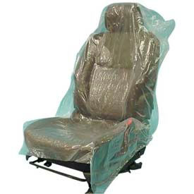 JohnDow Mechanics Plastic Seat Covers Roll, Green 500 Covers/Roll SC-5H by