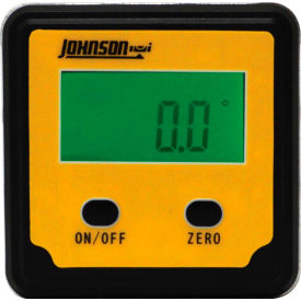 Johnson Level 1886-0000 Magnetic Digital Angle Locator 2 Button by