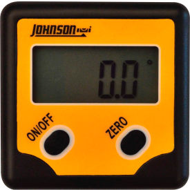 Johnson Level 1886-0100 Pro Magnetic Digital Angle Locator 2 Button by