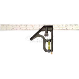 "12"" Professional Heavy-Duty Combination Square English/Metric"